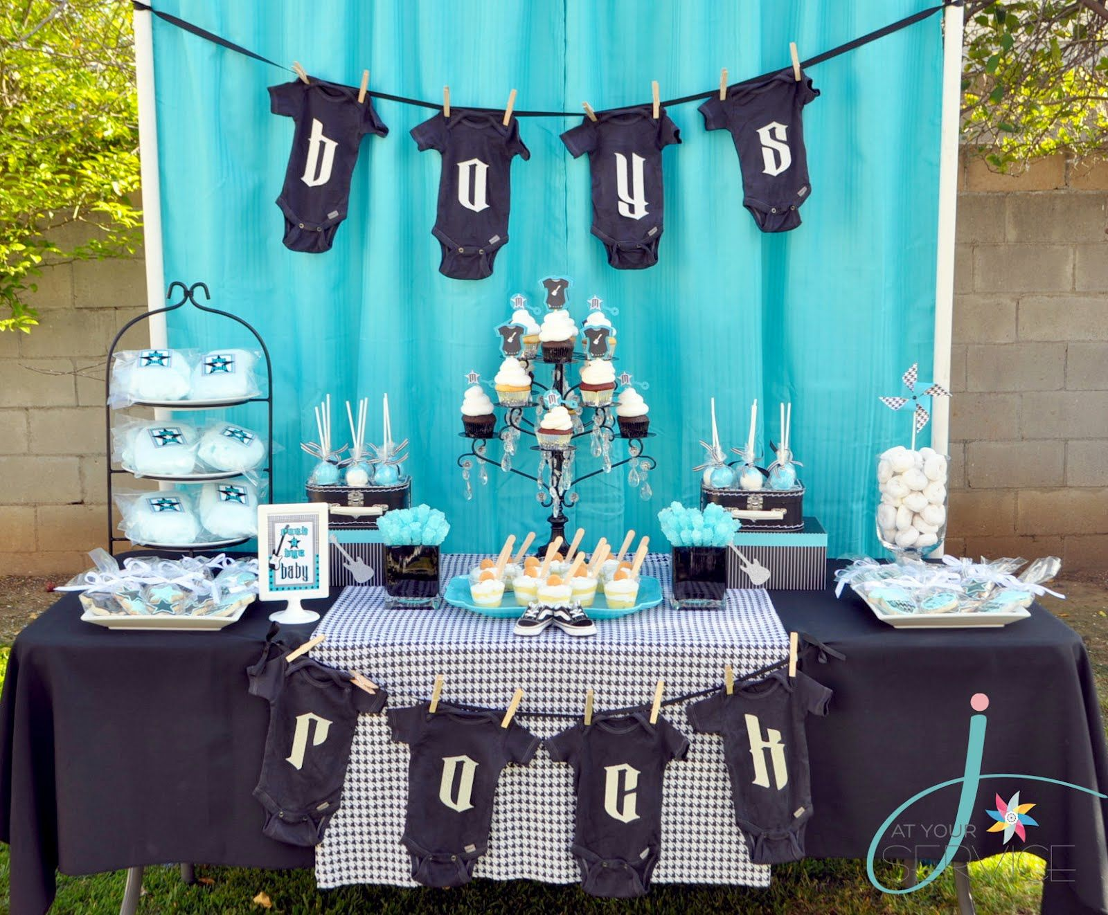 """Rock A Bye Baby"""" Baby Shower hint hint nudge nudge for my best or"""