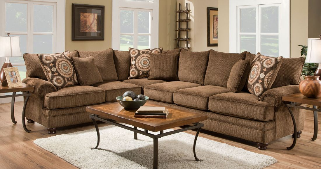 Best 2Pc Sectional Bel Furniture Getting This For The Living Room Brown Sofa Living Room Brown 400 x 300