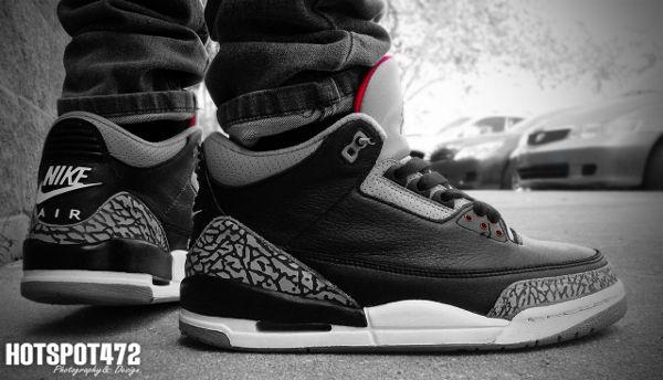 Air Jordan Black Cement 3