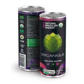 Bebida Energética Orgânica Organique UP! - Pack 6 Unidades