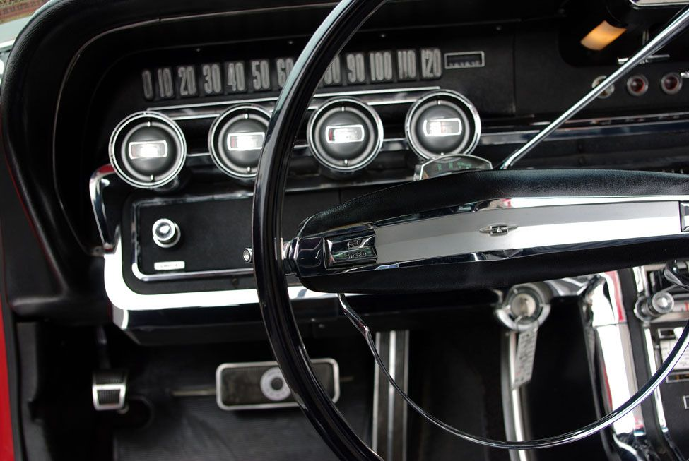 Dash of my 1964 TBird. Awesome. Ford thunderbird, Black
