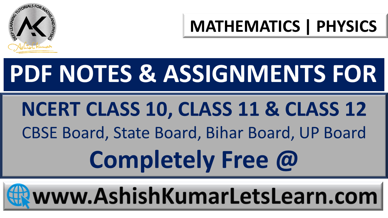Pin by Ashish Kumar - Let's Learn on PDF Notes & Assignments