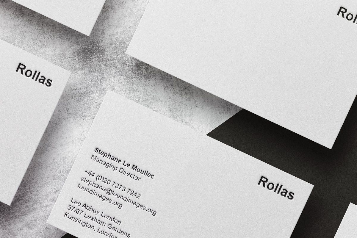 Business Card Template Mock Up Business Card Template Minimal Business Card Card Template