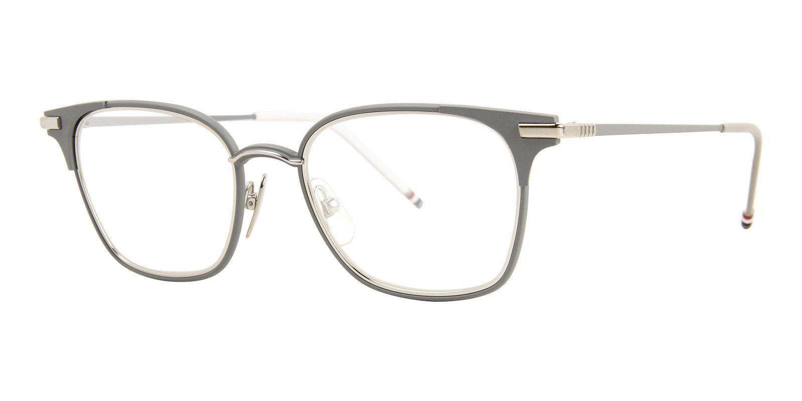1c0851d1e9e8 Thom Browne - TB-107-B Gray-eyeglasses-Designer Eyes