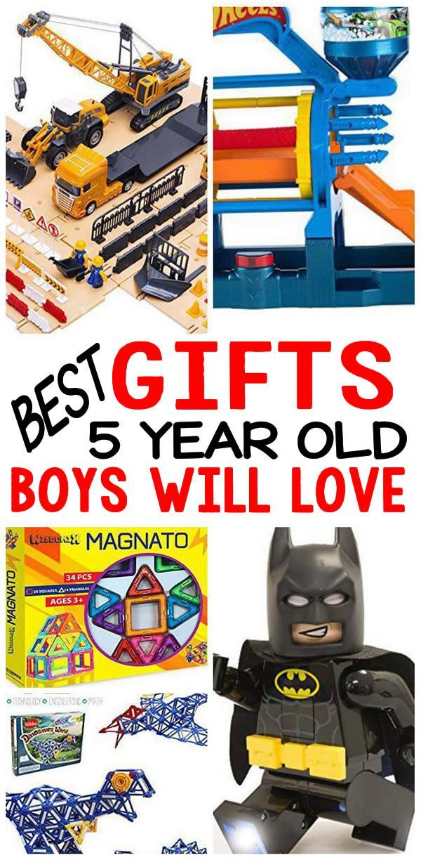 BEST Gifts 5 Year Old Boys Will Love | 4 year old boy ...