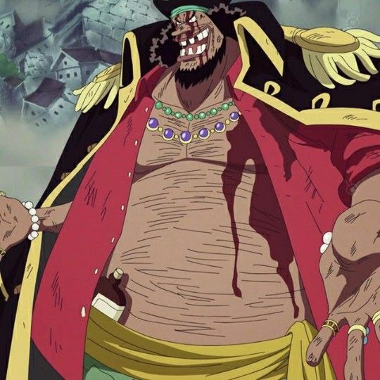 Blackbeard And Luffy: Barba Negra - Marshall D. Teach