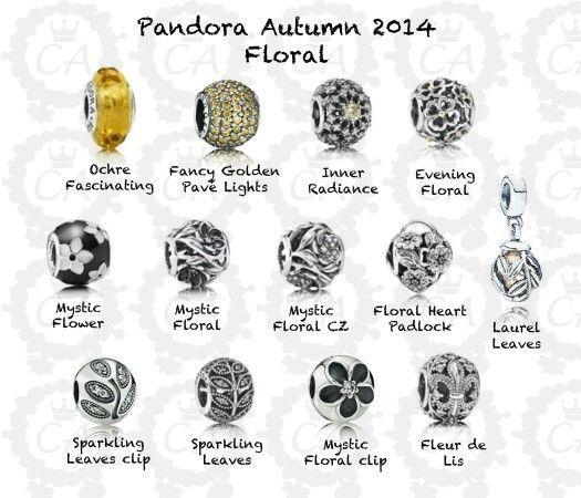 Pandora autumn 2014, Pandora earrings, Pandora bracelet charms