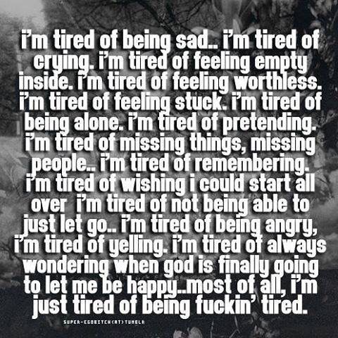 In My Head The Truth In My Head Pinterest Quotes Tired Quotes