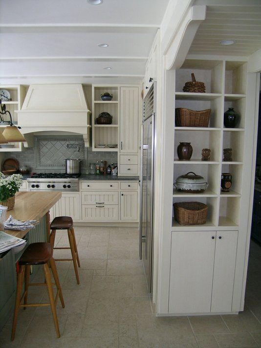 Hand Made Painted Kitchen by Michael Humphries Woodworking   CustomMade.com   Country Kitchen