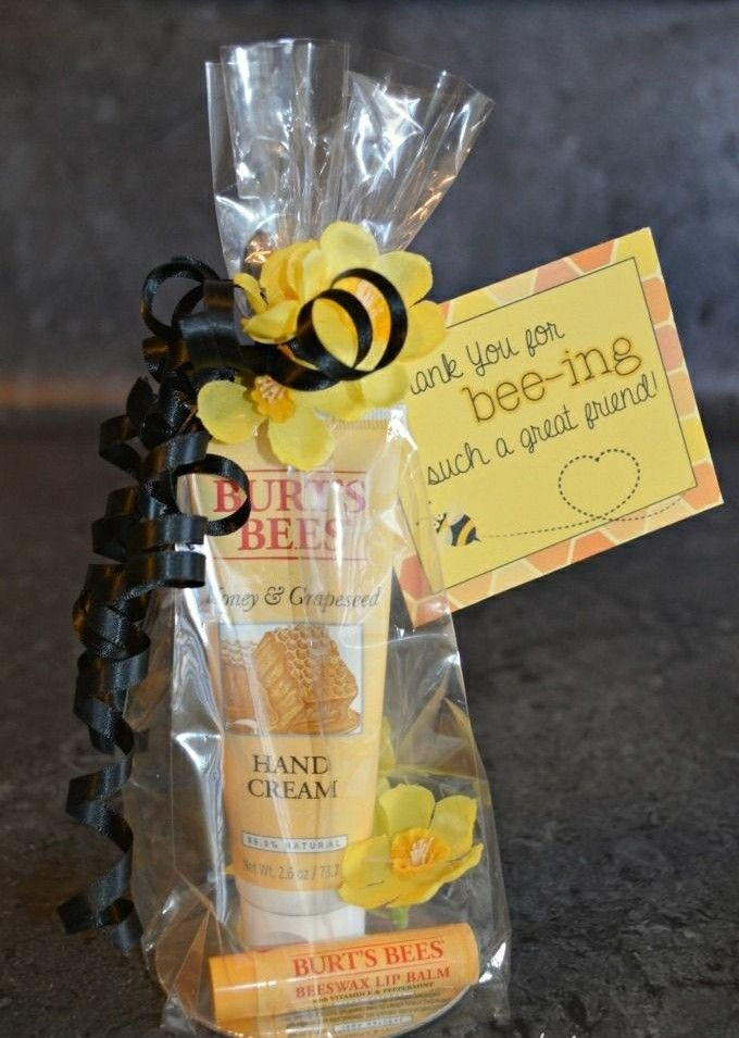 Change Wording To Employee Fall Care Package Deal Bee Gifts Teacher