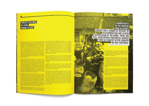 Amnesty International Human Rights Magazine issue 03 by TGIF