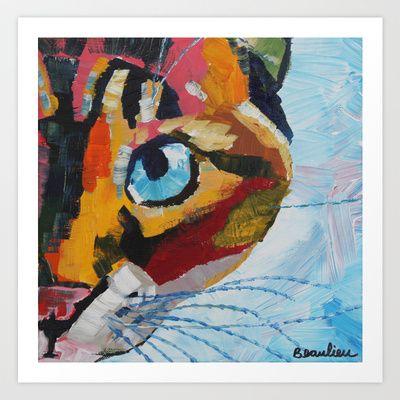 Princess Cat Art Print by Andre Beaulieu Studio - $19.00
