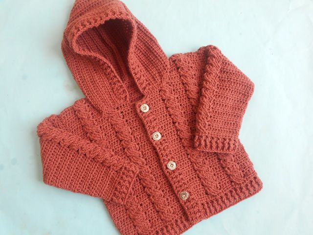 Crochet Cabled Baby Sweater Free Pattern By Crochet Crosia Baby