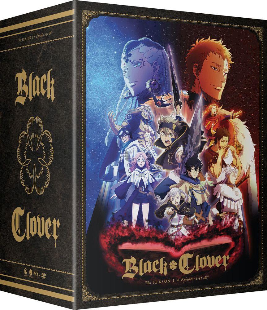 Black Clover Season 1 Part 3 Collector's Box BluRay/DVD