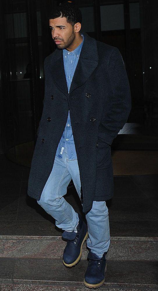 Drake in Timberland | Timberland outfits men, Timberland
