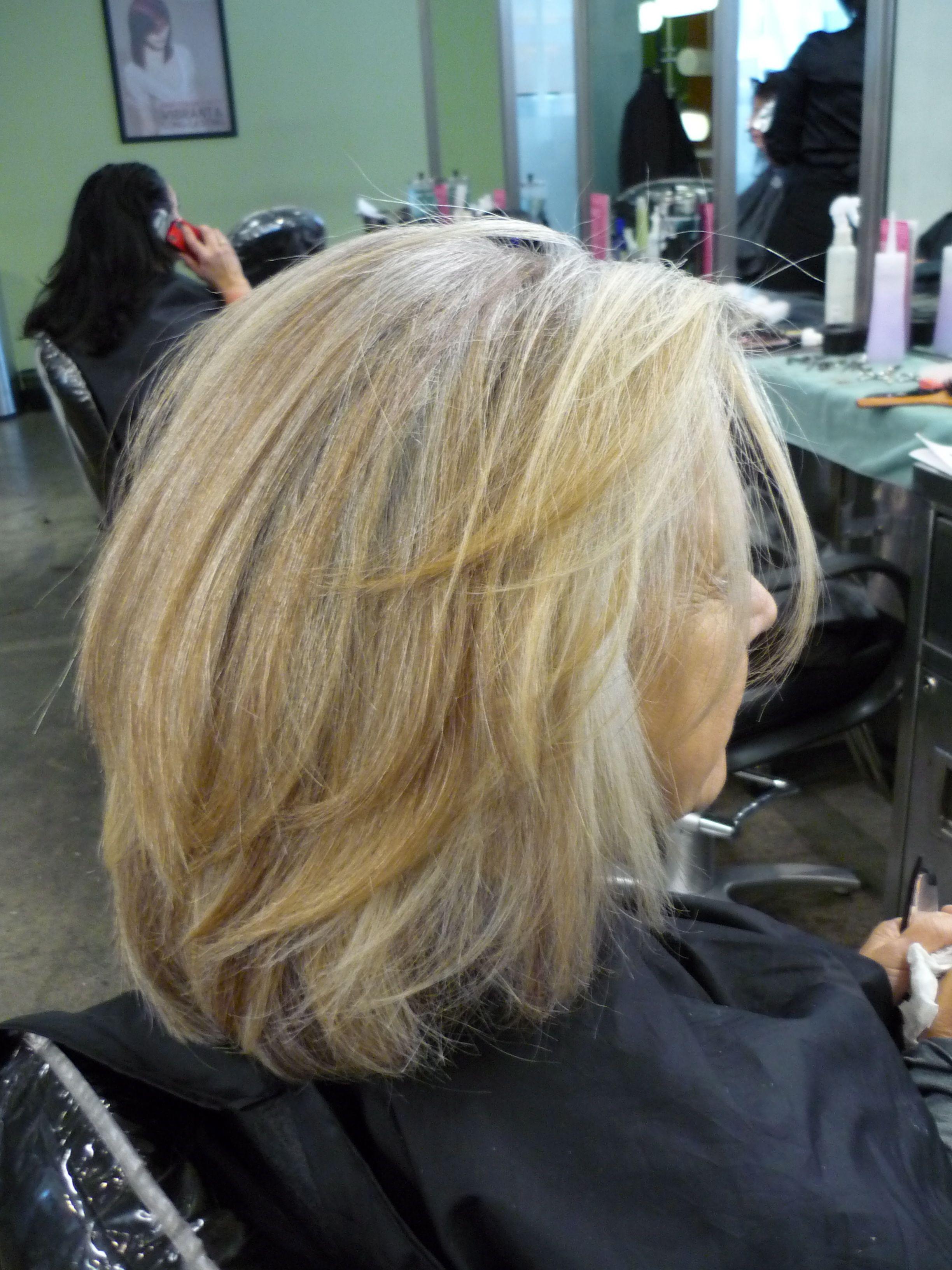 Hairstyle Lookbook Gray Blending Beauty Grey Hair