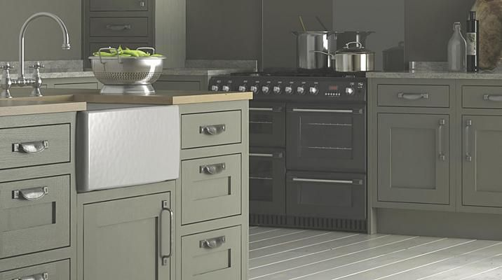 Carisbrooke Taupe From Bq Kitchens From Cheap Shops