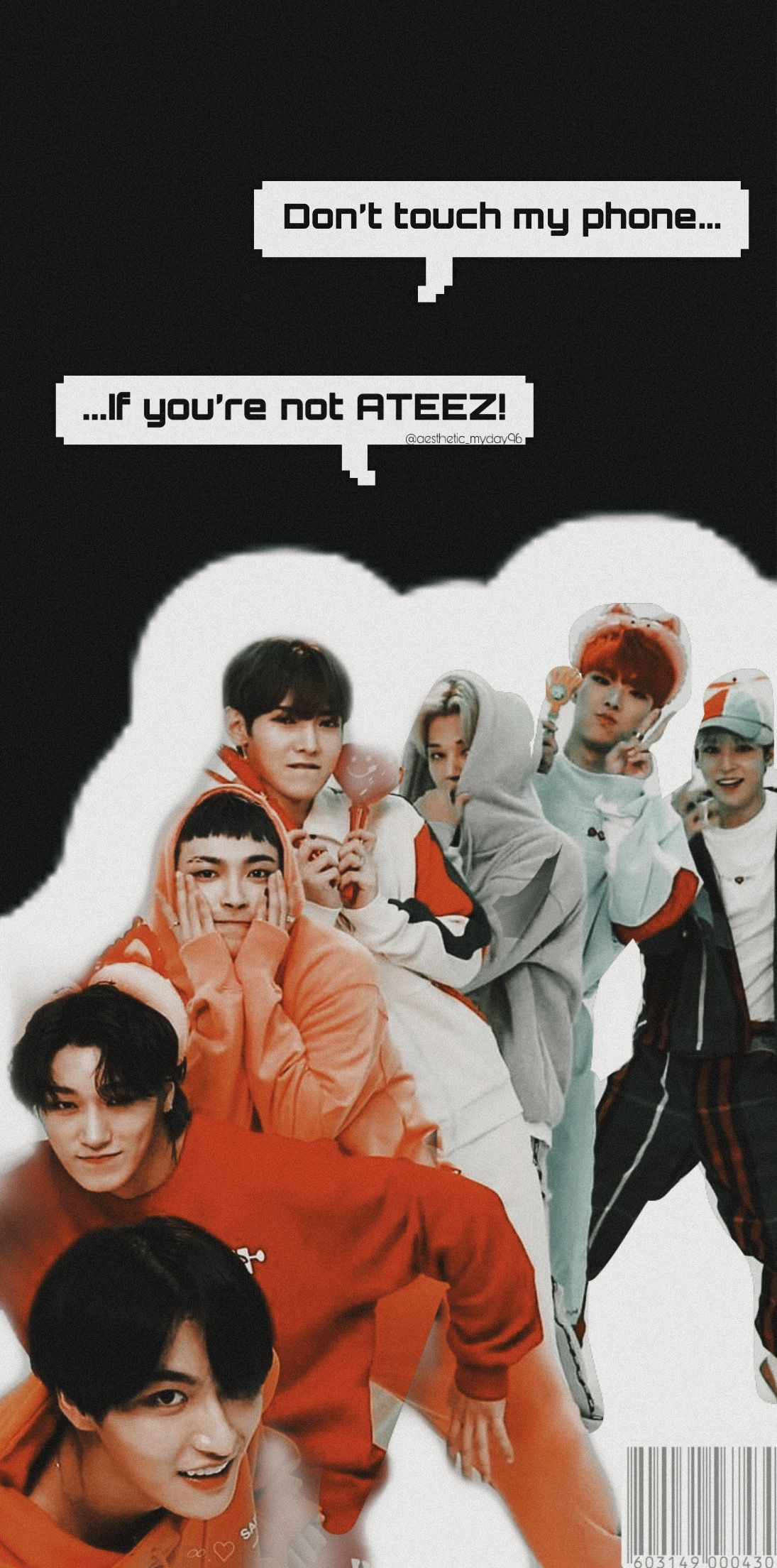 Have You Listened To Ateez Answer It S A Bop Request Box Is Open Kpop Wallpap Dont Touch My Phone Wallpapers Future Wallpaper Kpop Wallpaper