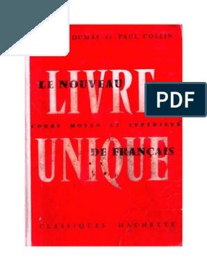 Langue Francaise Le Nouveau Livre Unique De Francais 04