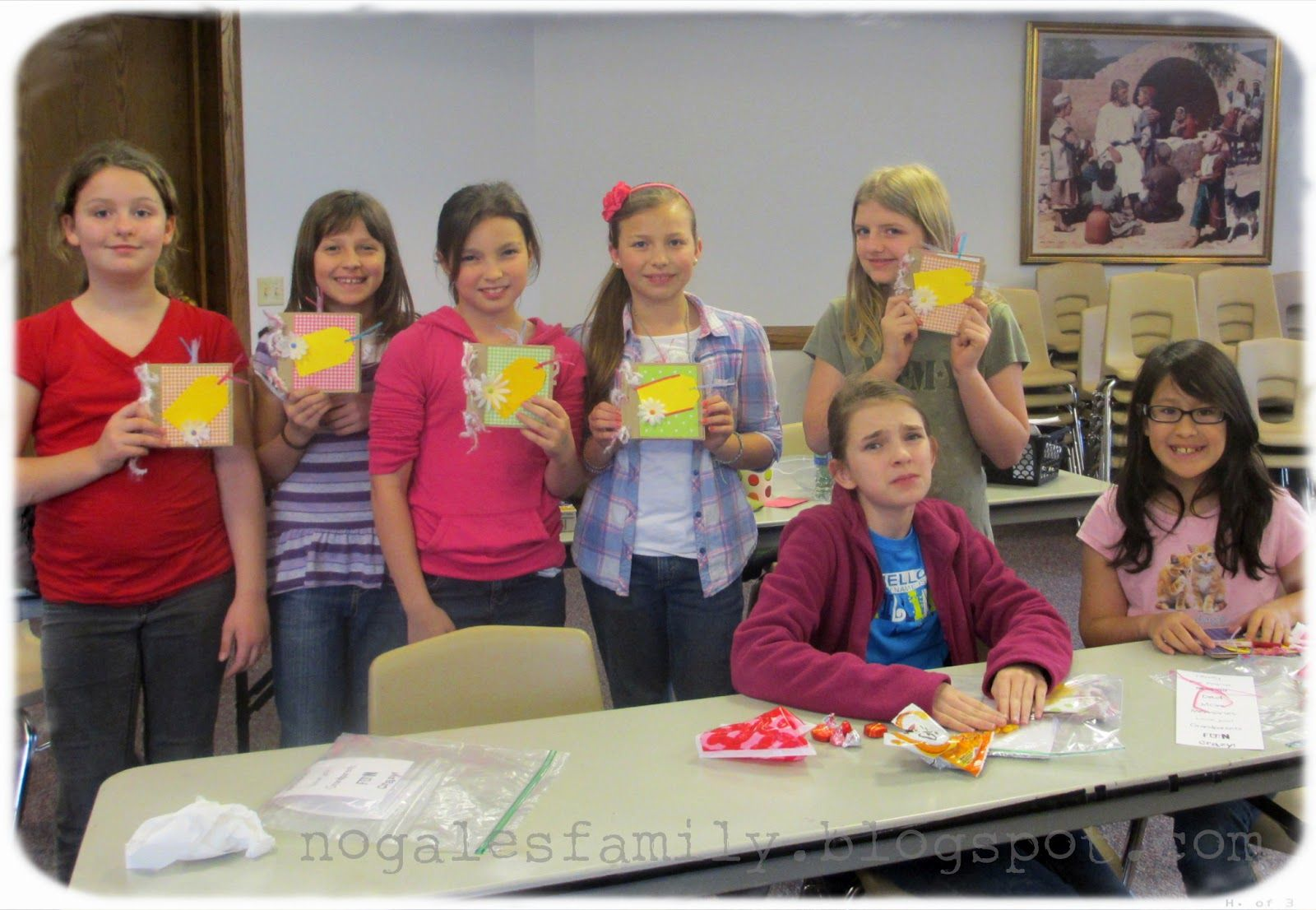 """This past week at Faith in God we made paper bag scrapbooks. They turned out really cute. This was for the requirement of """"learning and livi..."""