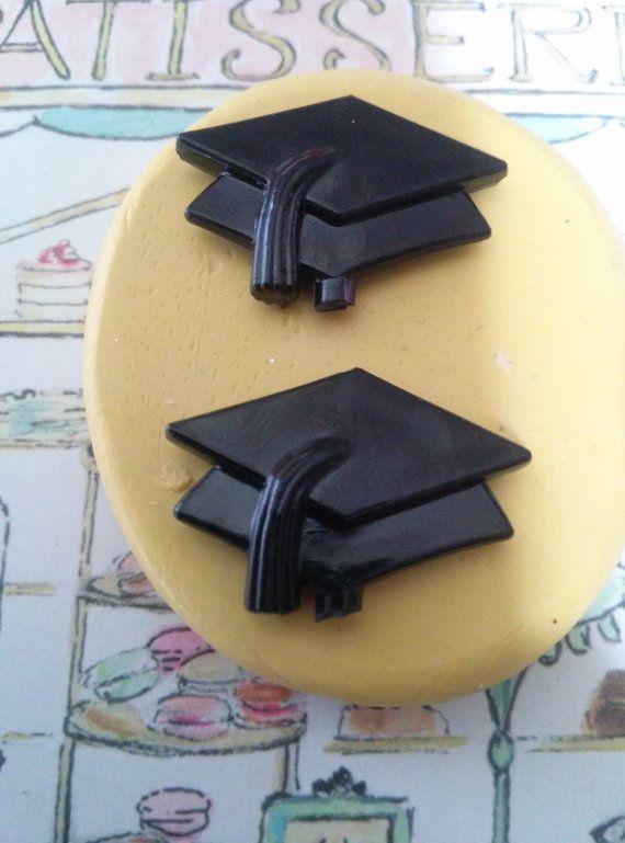 Graduation Cap Flexible Silicone Mold Etsy Silicone Molds Graduation Cap Soap Molds