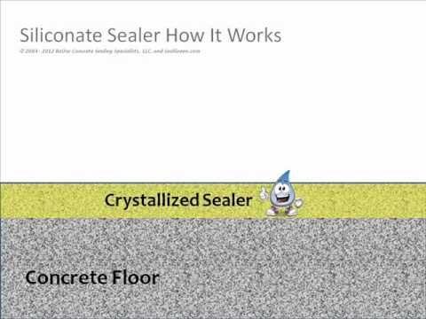 The Benefits Of Penetrating Garage Floor Sealers All Garage Floors Concrete Sealer Concrete Garages Garage Floor
