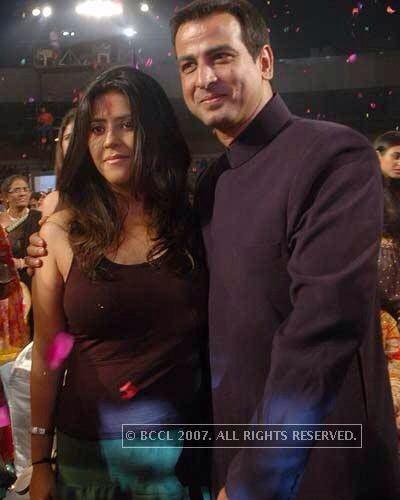 Ronit Roy With Ekta Kapoor Actors Roy Royal