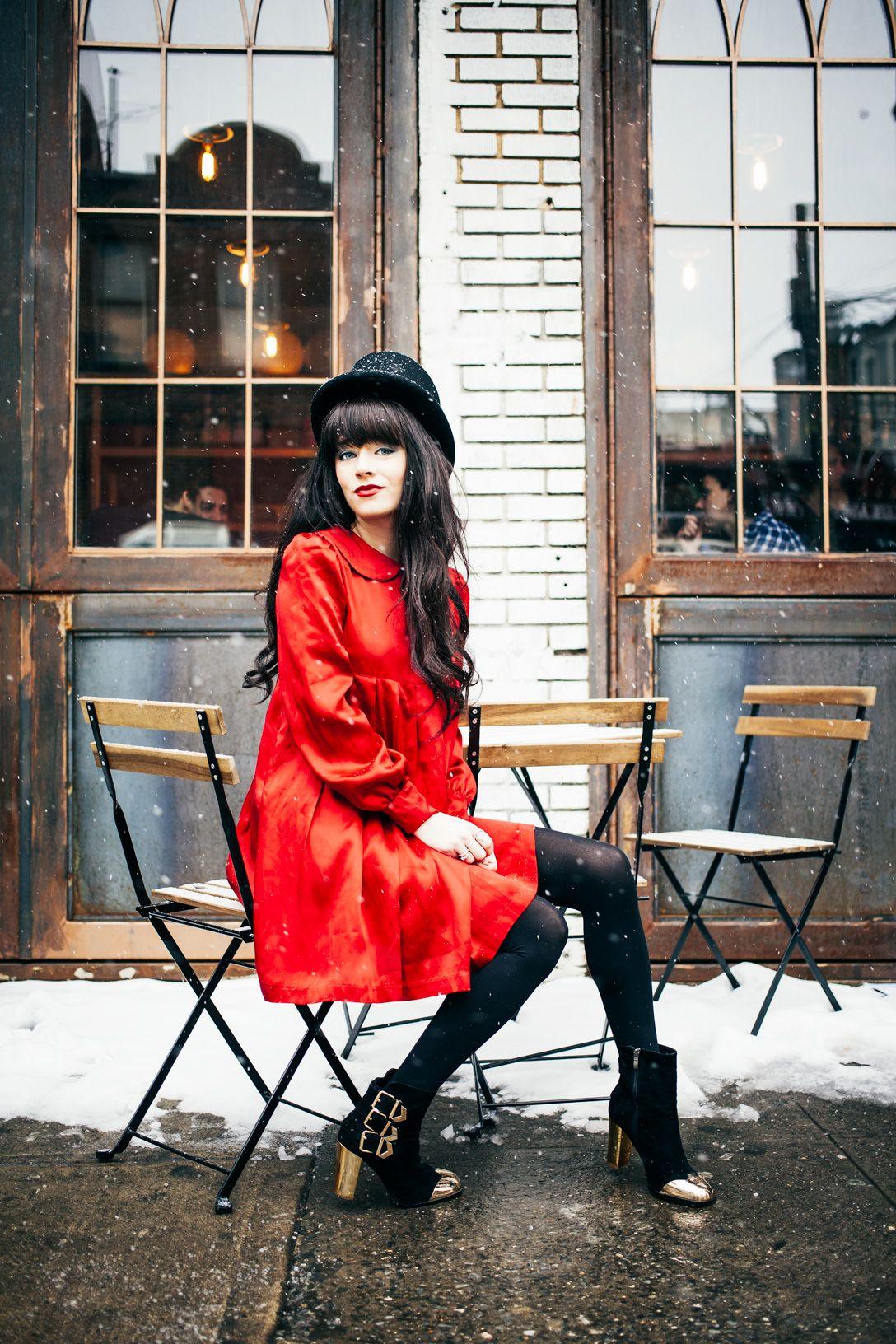 #Jaglever #Red Dress