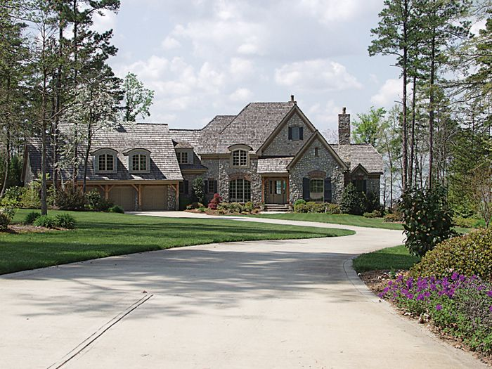 European house plan front of home 129s 0024 from for Www houseplansandmore com