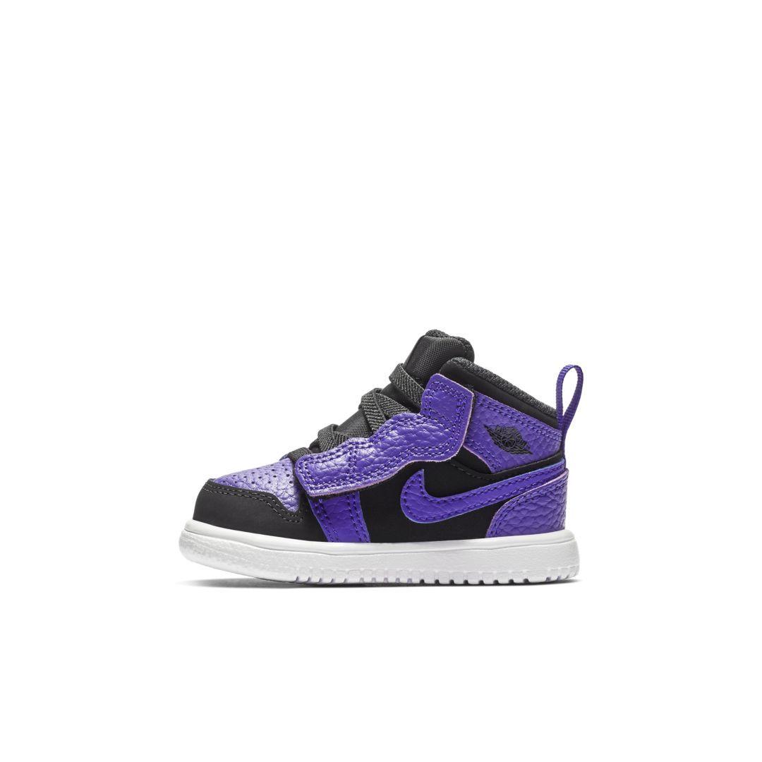 watch 5e1d5 e093d Air Jordan 1 Mid Alt Infant Toddler Shoe Size 6C (Black)