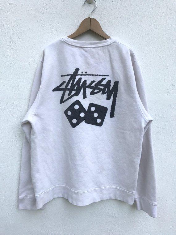 ee204b4e7edc Vintage Stussy Sweatshirt Vintage Stussy Sweater Skate Jacket Stussy New  York Streetwear Hip Hop Swe