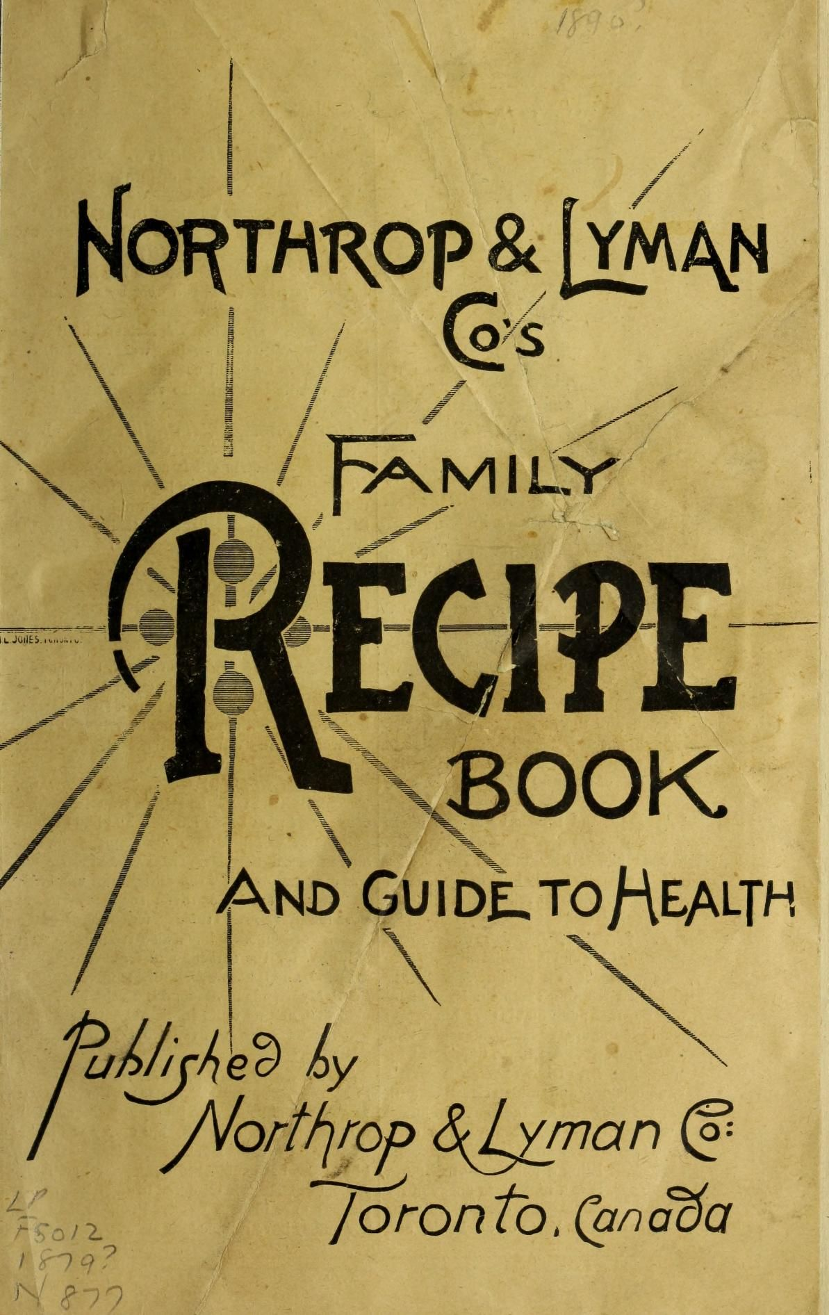 Northrup and lyman cos family recipe book and vintage recipes s family recipe book and guide to health forumfinder Image collections