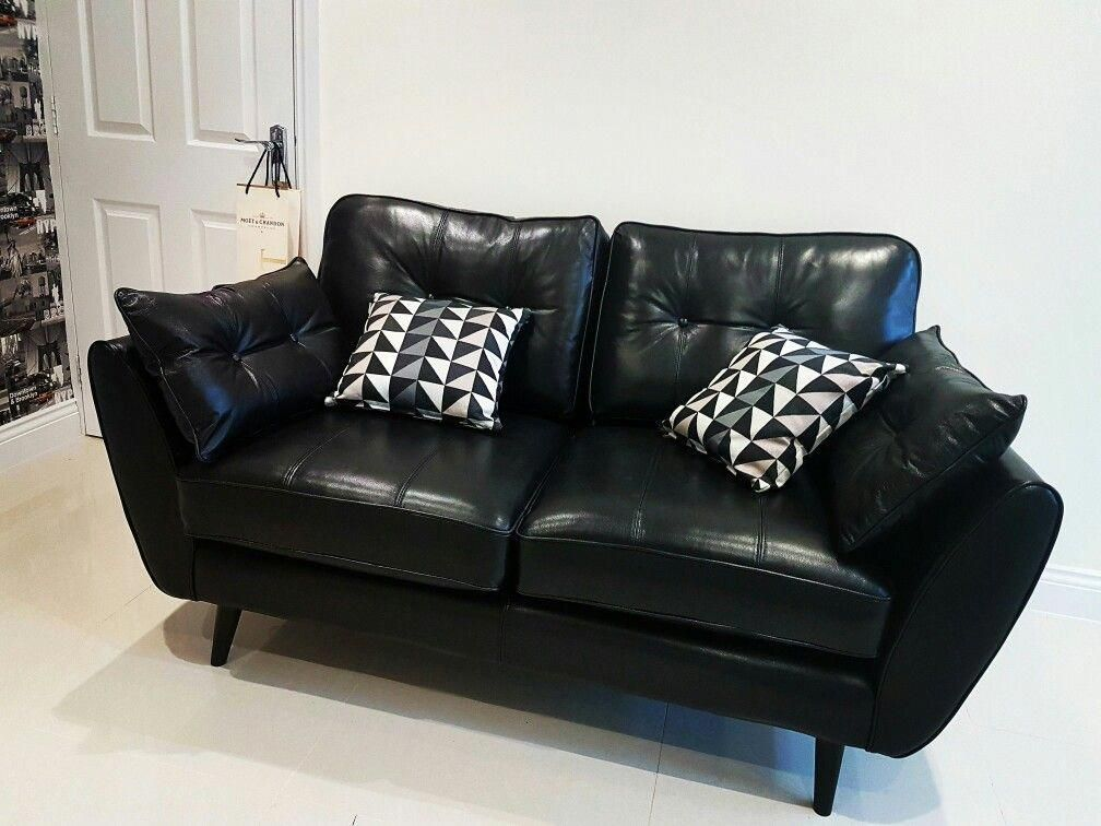 Dfs French Connection Zinc Black Leather Black Leather Sofas Dfs Leather Corner Sofa Best Leather Sofa