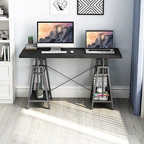 Tribesigns Computer Desk Height Adjustable Standing Desk