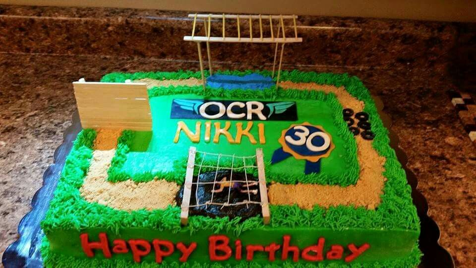 Obstacle Course Birthday Cake Sweet Cheek Cakes Pinterest