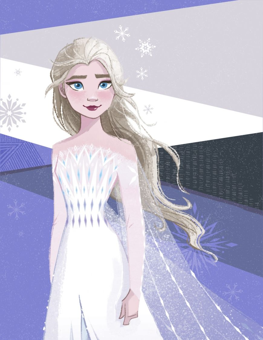 Frozen 2 Elsa New Image With Hair Down In 2020 Disney Princess Tattoo Disney Frozen Elsa Disney Cuties