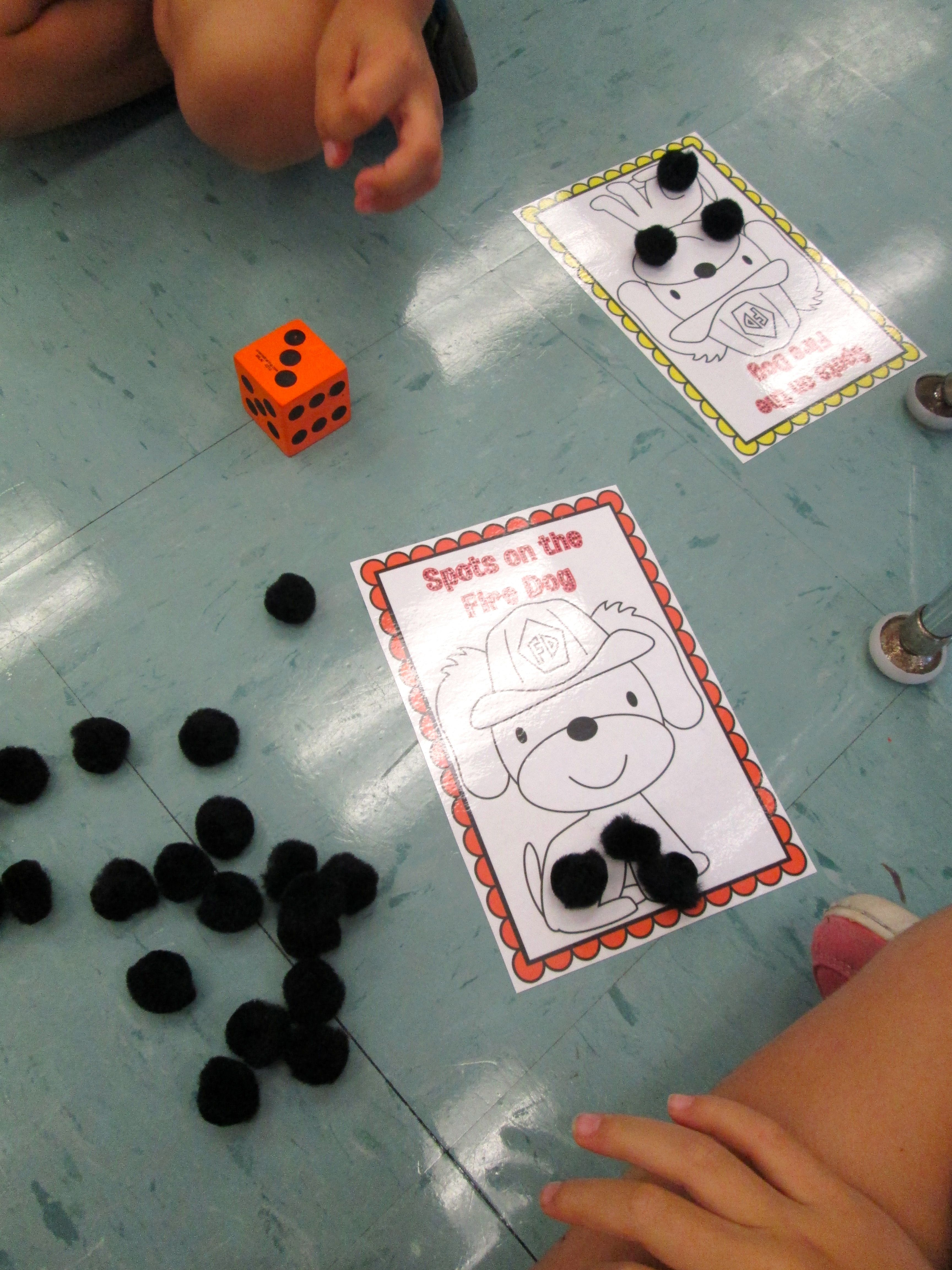 Freebie Math Center Activity For Fire Safety Month