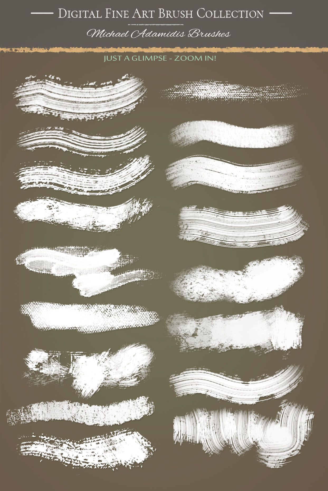 Photoshop Brushes For Painting Oil Painting Brushes For Digital