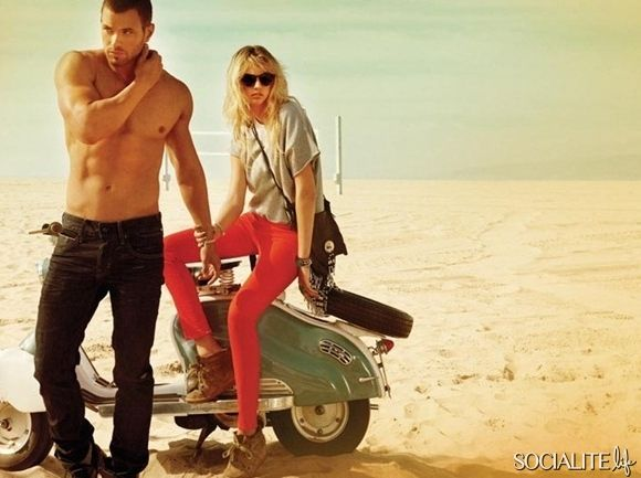 Kellan Lutz And Kate Upton For Dylan George & Abbot And Main Fall/​Winter 2012 Campaign