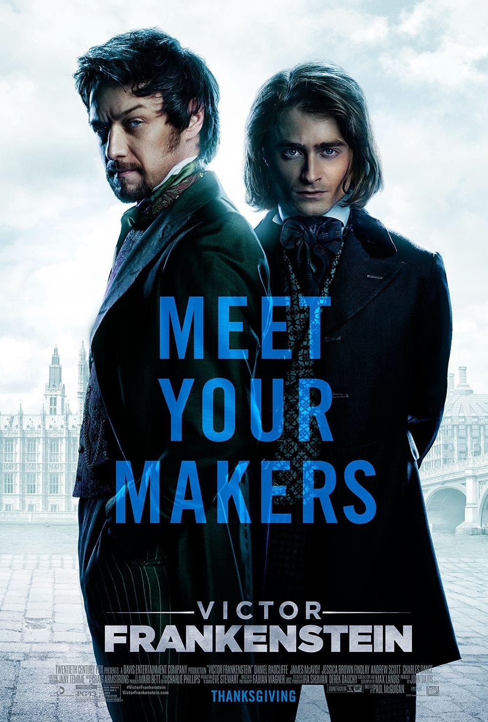 Victorfrankenstein Starring James Mcavoy Daniel Radcliffe In Theaters November 25 2015 Victor Frankenstein Frankenstein Film Frankenstein