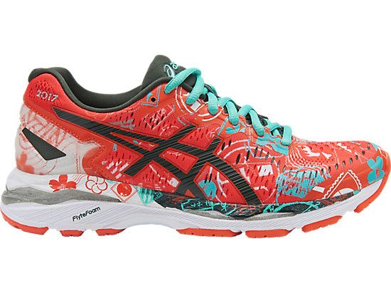 ASICS GEL-KAYANO 23 for women is lightweight and made for long distance  runs.