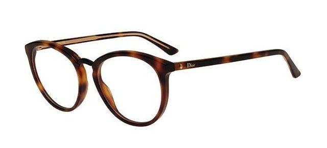 dcfff89ef99 Dior Montaigne 39 0C9C Round Eyeglasses