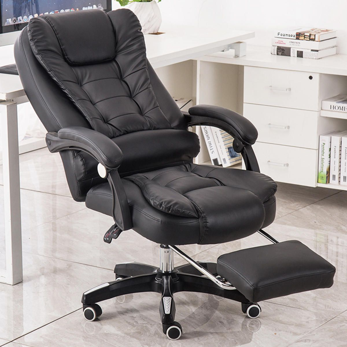 Ergonomic Office Chair Racing Gaming Chair HighBack PU