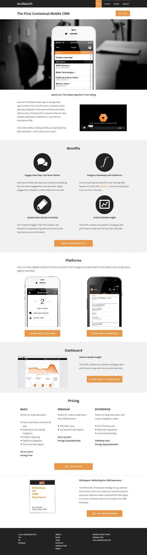 Enterprise Mobile Apps Best Website Web Design Inspiration Showcase Web Design Inspiration Mobile Website Design Elearning Design