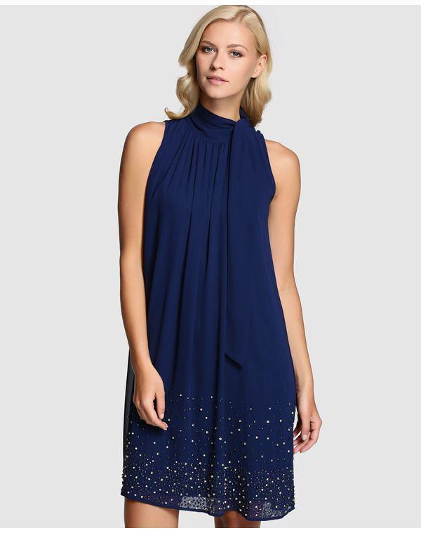 1e6f4f425 Vestido | mi 2 | Vestidos de fiesta, Vestidos azules y Vestidos