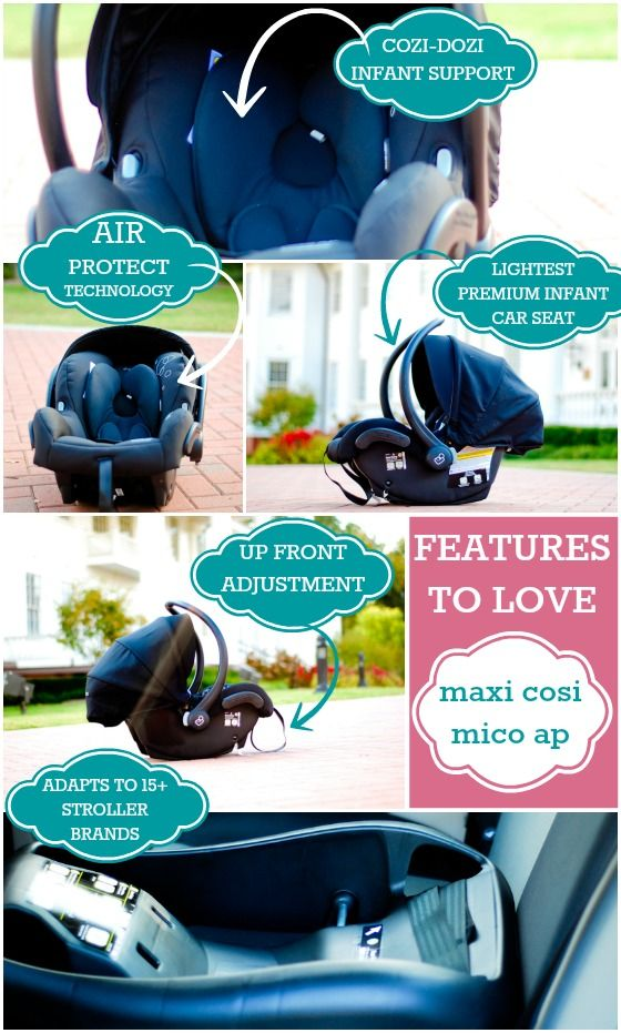 Features To Love With The Maxi Cosi Mico AP
