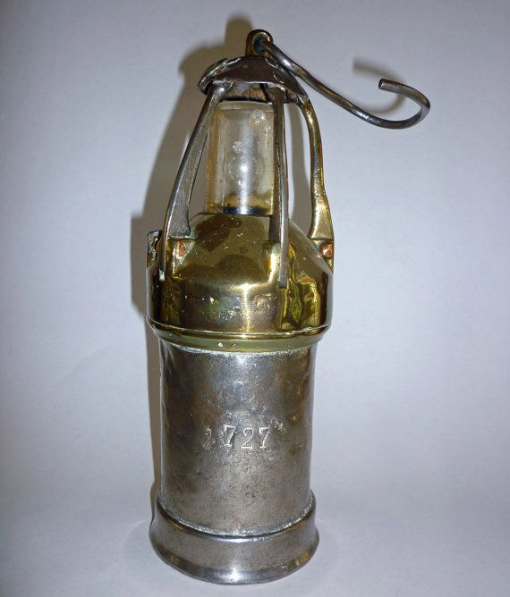 Vintage European Miners Lamp Lantern By Maisonchantalmichael Lamp Lanterns