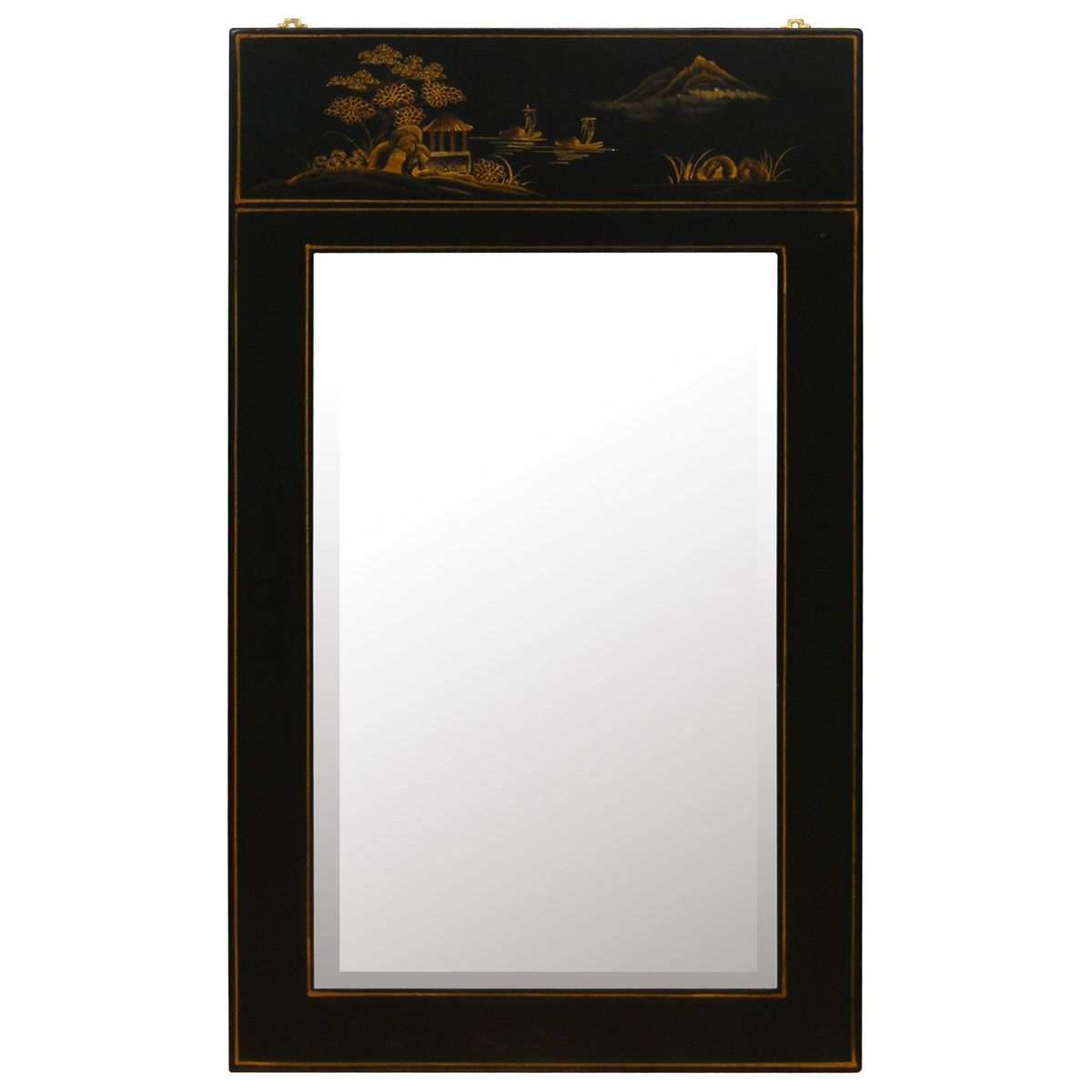 Asian Style Wall Mirrors Chinoiserie Scenery Design Mirror Chinoiserie Decor