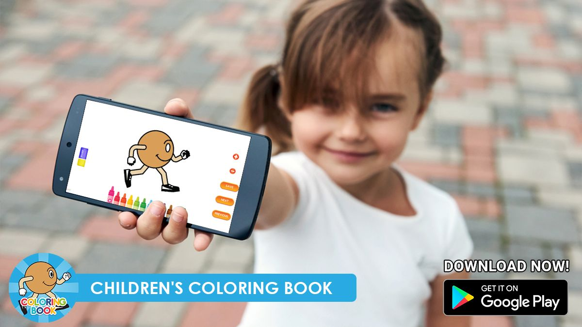 Coloring App Game Coloring Apps Childrens Colouring Book Game App