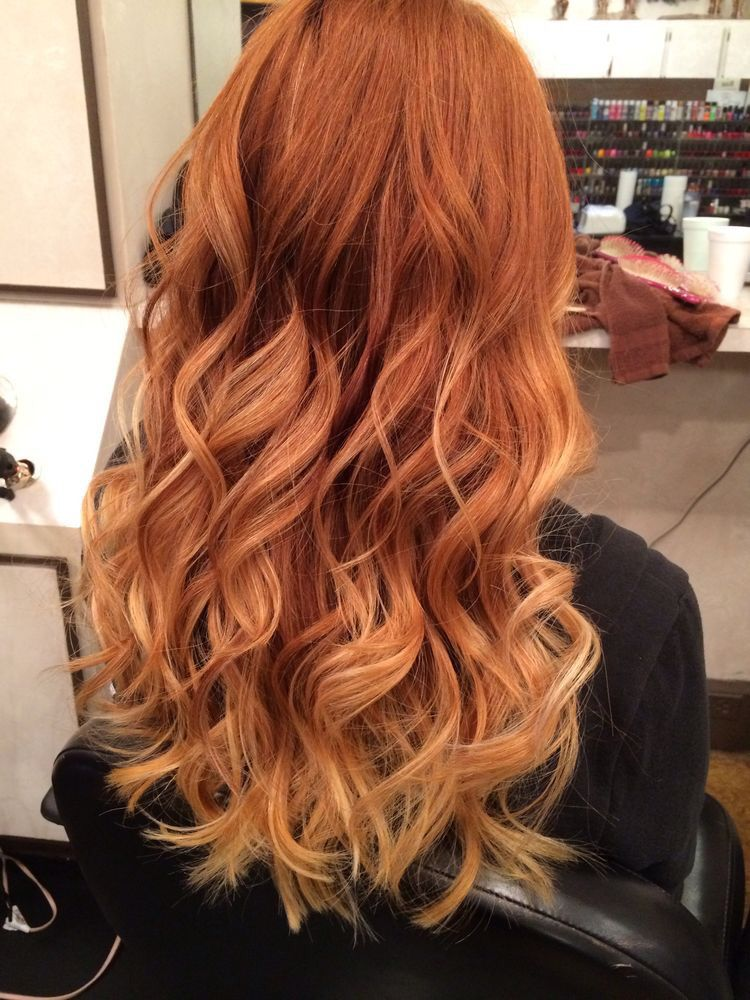 Pin By Elizabeth Yeager On Long Hair Don T Care Red Blonde Hair
